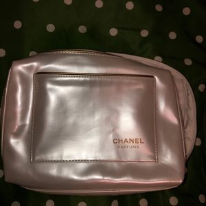 Chanel Parfums Cosmetics Bag